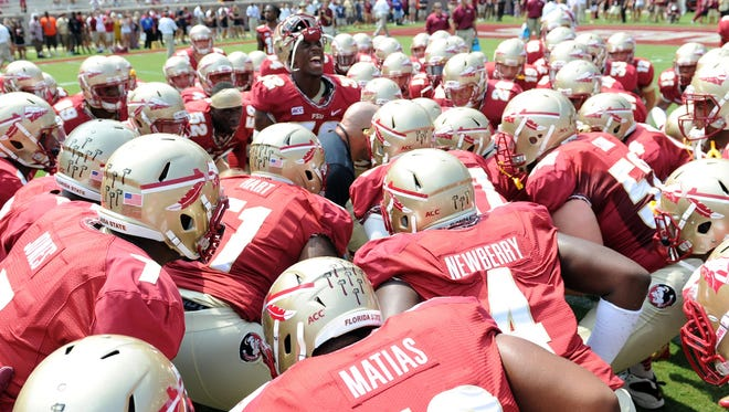 Florida State is projected to play in the national championship game.