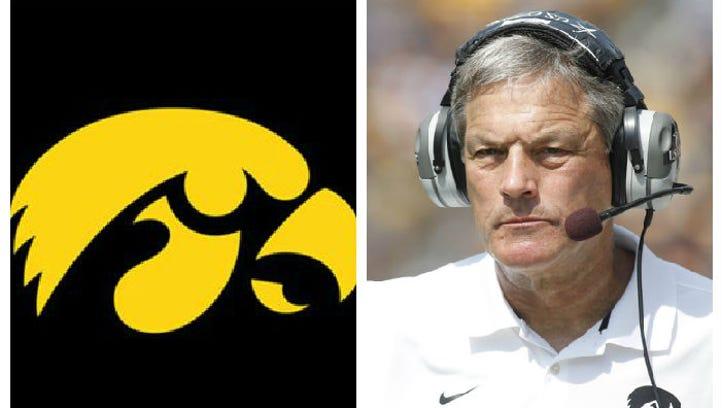 Iowa's spring game is Saturday, April 25, 2015.