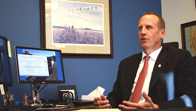 Washoe County District Attorney Chris Hicks talks about his career and the three years he's served as district attorney.