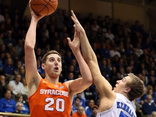 NCAA Basketball: Syracuse at Duke