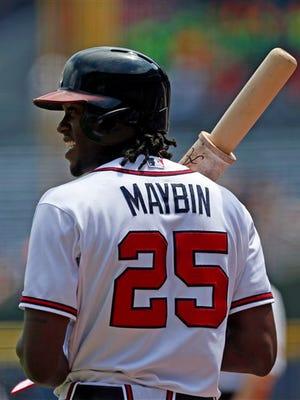 Roberson alum Cameron Maybin is the starting center fielder for the Atlanta Braves.