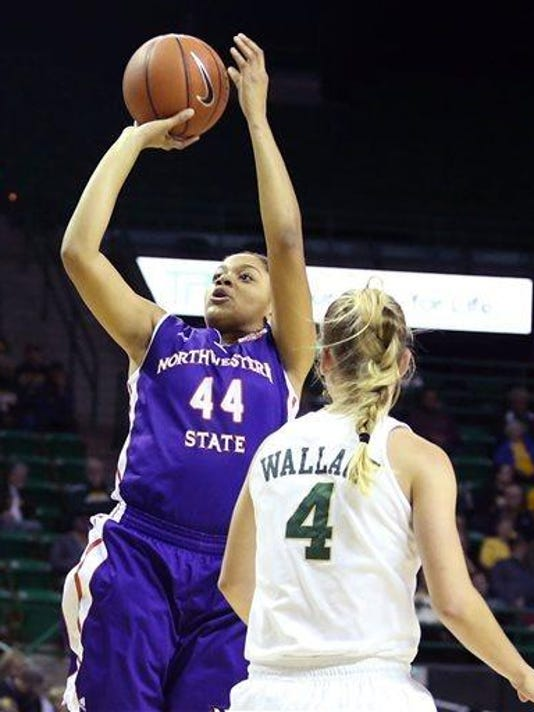 Tia Youngblood (44) Kristy Wallace (4)