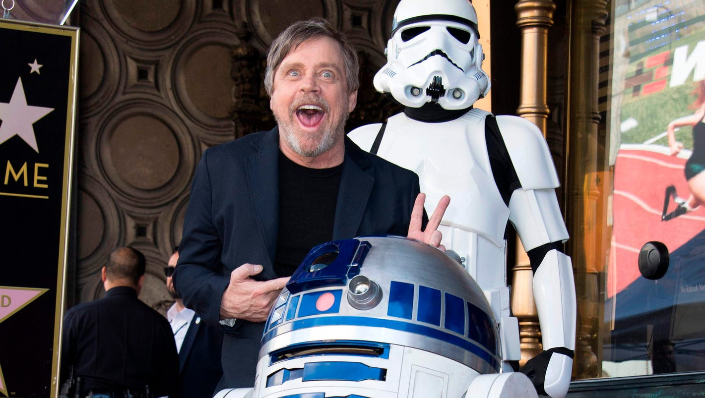 'Star Wars': Mark Hamill tears up for Yoda in exclusive 'Last Jedi' video