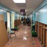Westside Elementary Begins Cleanup