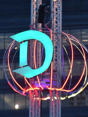 A ball will be dropped to ring in the new year at Beacon Park, the new location for Detroit's New Year's Eve celebrations after years in Campus Martius Park.