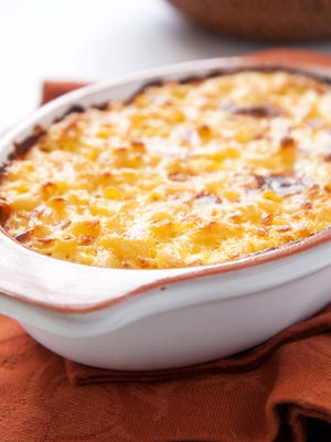 Blueplate's rendition of the classic dish features Swiss, Provolone, cheddar and Parmesan cheeses.