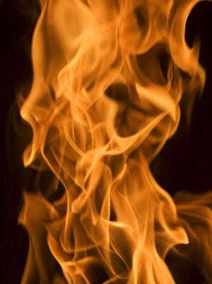 Stock image of fire.