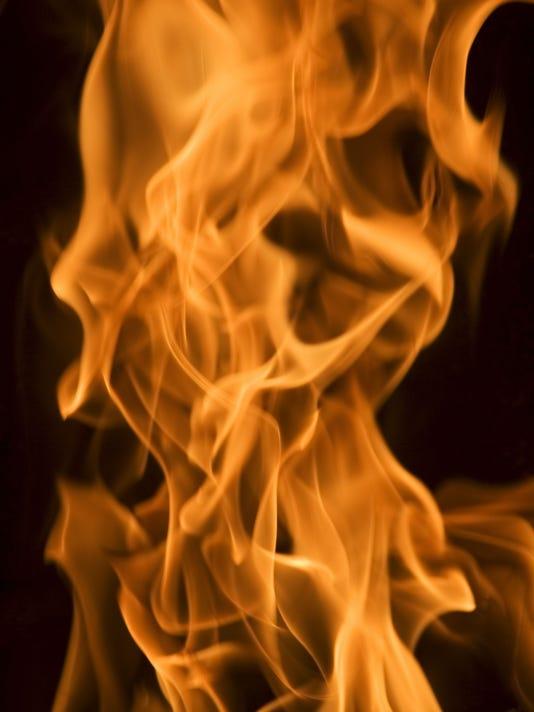 Trash fire at Troy hangout stock photo.jpg