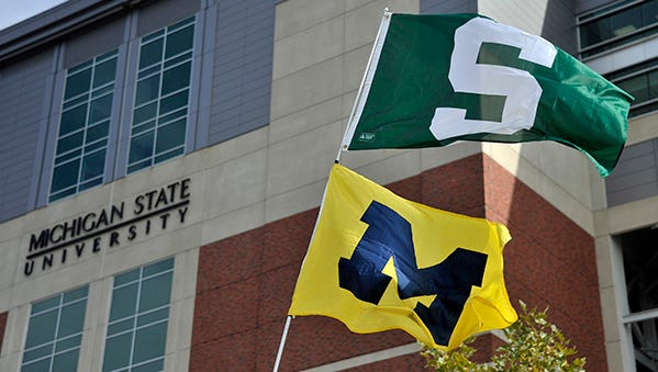 Michigan and Michigan State meet again on the football field on Oct. 17 in Ann Arbor.