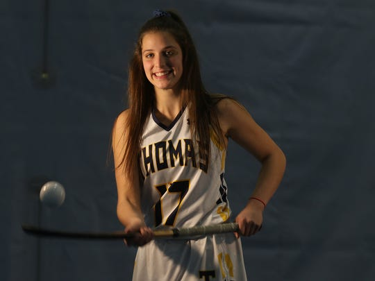 Mary Soures is the All Greater Rochester player of the year for field hockey.  Soures is a Webster Thomas senior.