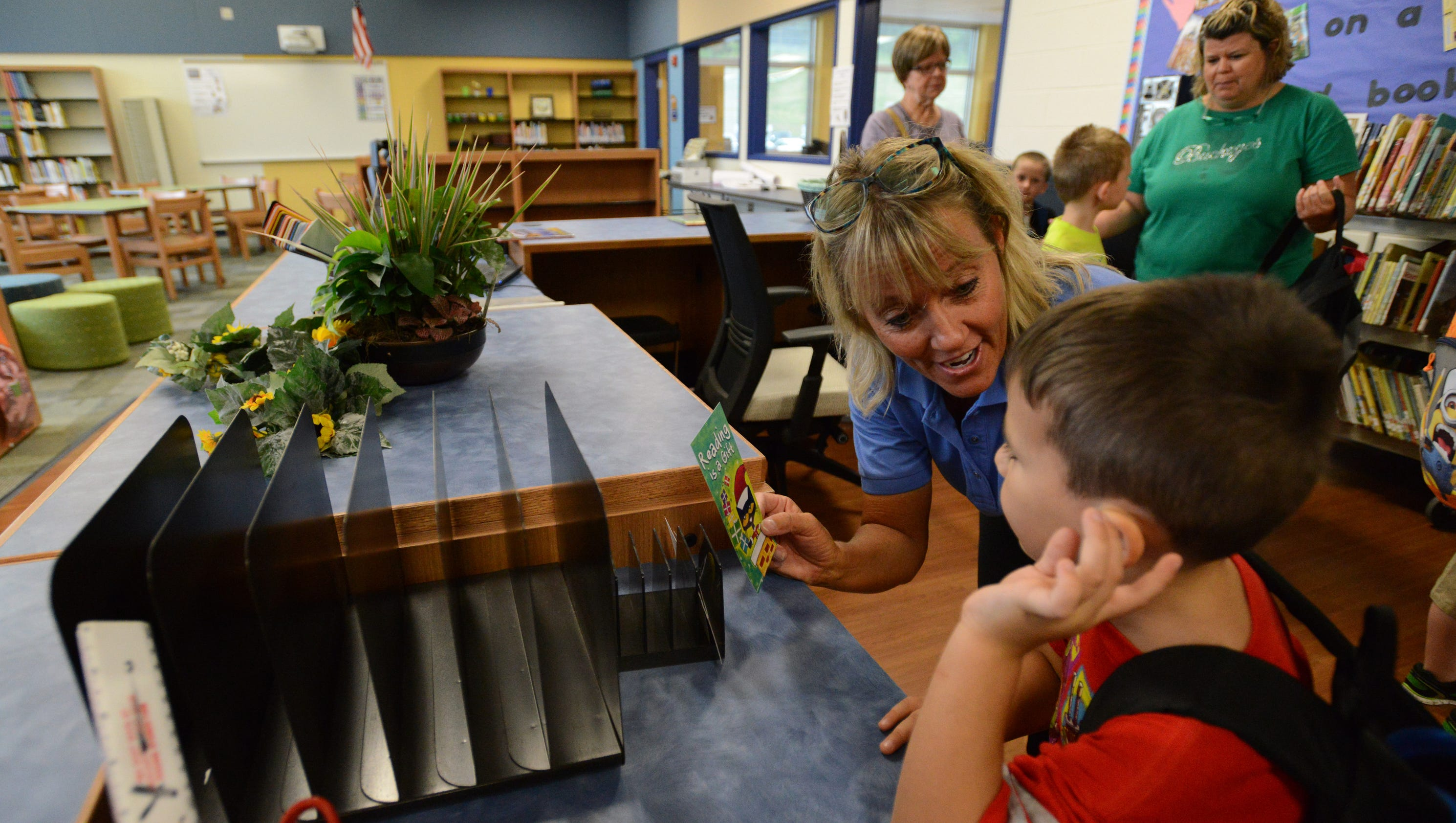 First day of school at Gorsuch West Elementary