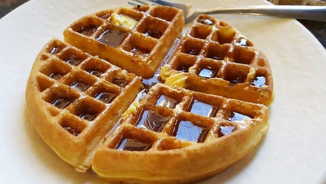 Taos Restaurant at New Mexico State University has introduced a Sunday brunch open to students and the public. A waffle bar is one of the  many offerings at the brunch.