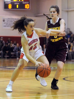 Fairfield Christian Academy junior Celeste Mershimer was named Central District Division IV Player of the Year.
