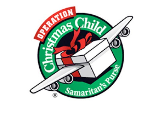 Operation Christmas Child Logo.Fairview First Baptist Collecting For Operation Christmas Child