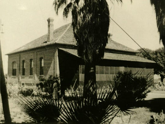 The Titus House is the oldest structure in Scottsdale. It was built in 1892. Photo taken in the 1920s.