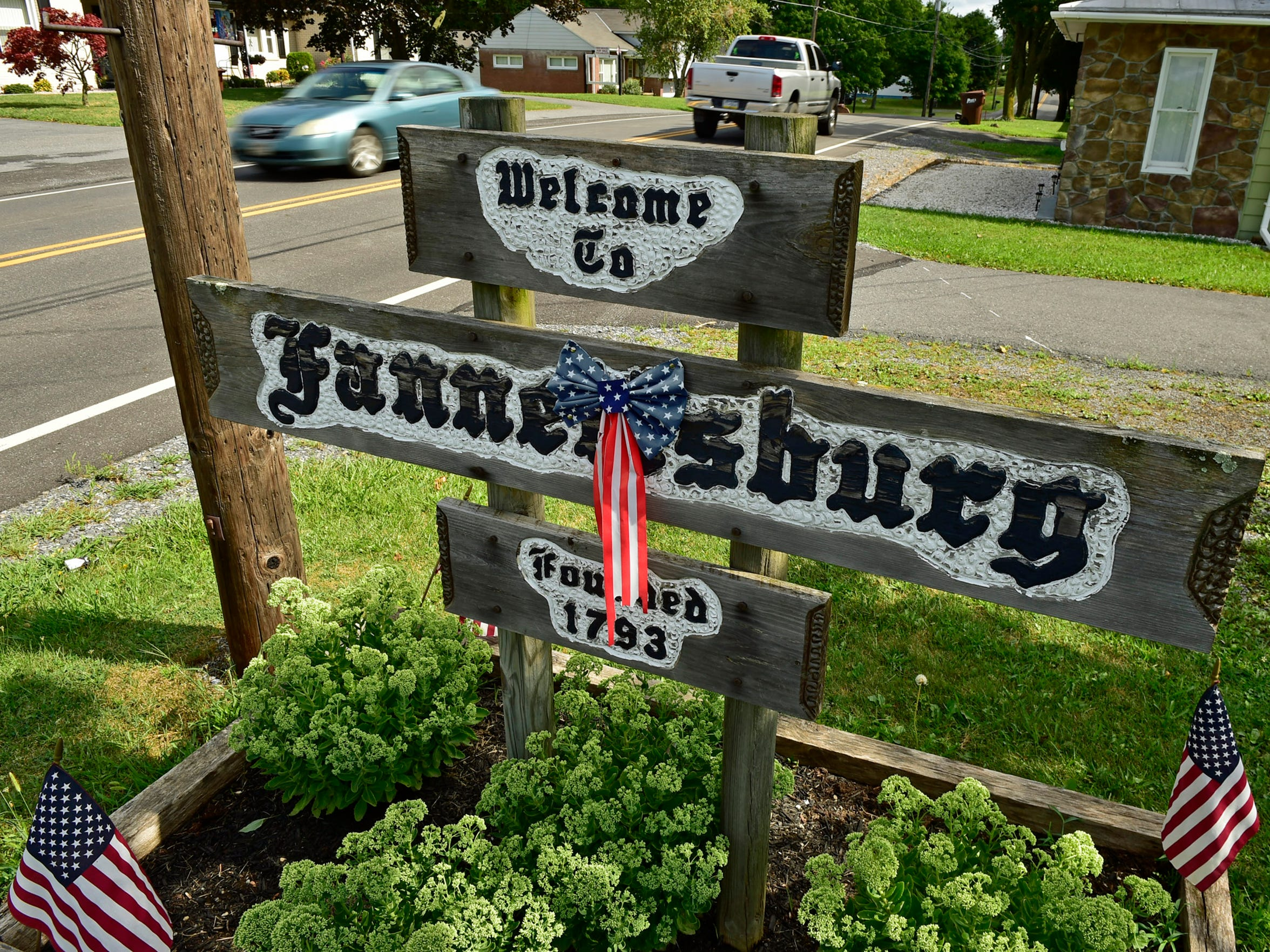 The tax bills for people living in the Fannett-Metal area are among the lowest in the county. The community of Fannettsburg, established in 1793, was photographed on Wednesday, August 17, 2016.