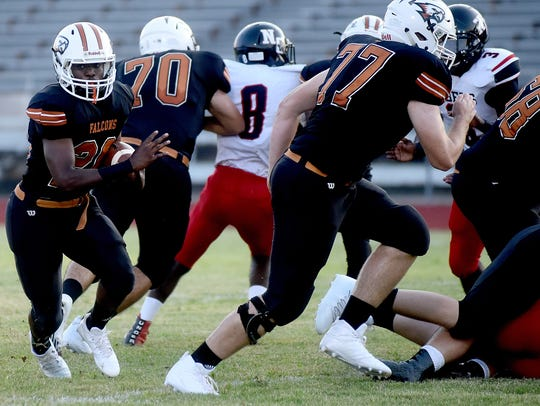 Northwood's Malik Wilson makes a run during a game