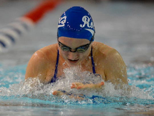 Spring Grove's Megan Heist will compete in the 200 individual medley and the 100 breaststroke at the York-Adams League Swimming Championships this weekend. She's the No. 2 seed in both races.