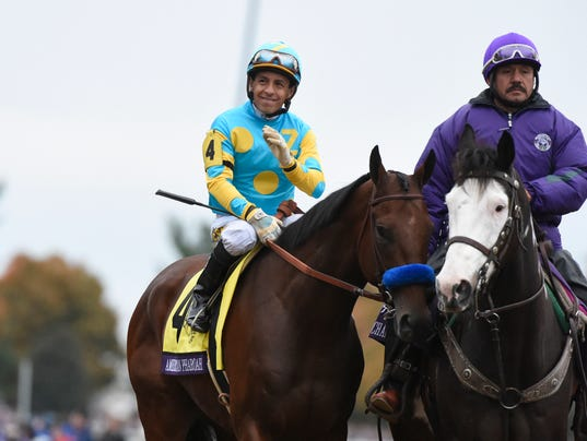 Video Replay American Pharoah S Breeders Cup Classic