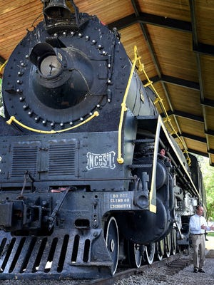 Nashville Steam Preservation Society President Shane Meador says his group wants to make an agreement with Metro Parks to restore locomotive No. 576, now sitting at Centennial Park April 25, 2016, to working order.