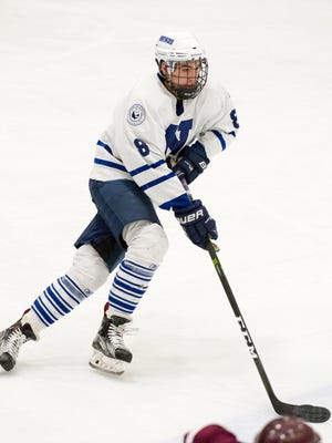 Jack Dugan, 19, dominated prep school competition while at Northwood School in Lake Placid, scoring 52 goals and 133 points in two seasons. He'll play a year in USHL before heading to Providence College.