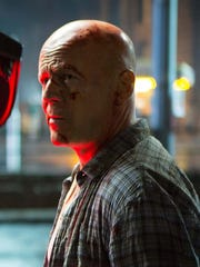 "Bruce Willis as John McClane in ""A Good Day To Die Hard"" (2013)."
