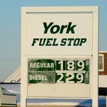 Regular unleaded gas is $1.89 a gallon at the York Fuel Stop on W. Market Street, West Manchester Township, Monday January 25, 2016. The county wide average is now less than $2 a gallon.  (John A. Pavoncello - The York Dispatch)