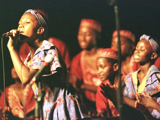 Members of the African Children's Choir perform in Great Falls  on Nov. 5 and Nov. 9