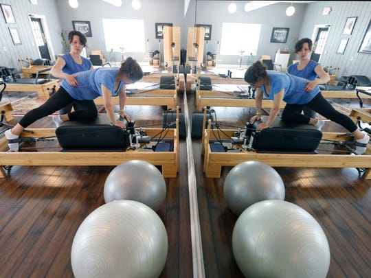 Pilates is more than a series of movements designed to stabilize and strengthen your core - the exercise, designed by Joseph Pilates in the early 20th century, also requires you to center yourself as you focus on each movement.