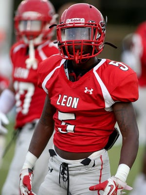 This file photo shows Laron Fryson, who was a junior at Leon High School the time.
