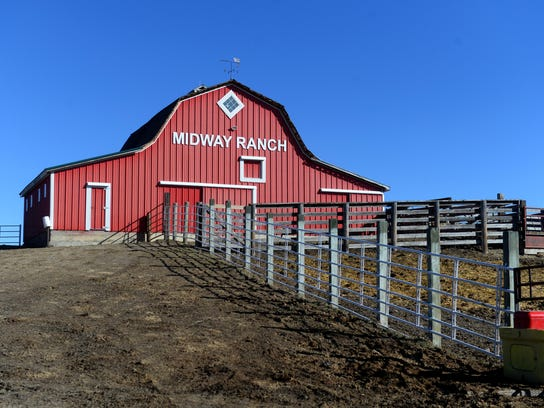 Midway Ranch, run by Dana Darlington and his wife,