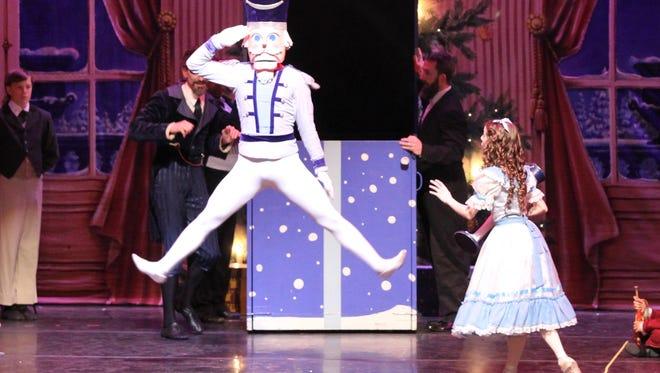 """The Nutcracker"" enchanted audiences Saturday at Memorial Auditorium."