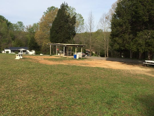The annual Charlotte Picnic park site on Wednesday