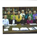 Pictured are, back row from left: Kathryn Brown, Lambuth Memorial United Methodist Church; Fredie Crowe, First United Methodist Church; Joan Hollins, Gallatin Church of Christ; Gay Shields, Sumner Christian Fellowship; Clara Rogan, First Baptist, Winchester Street; Paula Peck, Gallatin First United Methodist Church; Yvonne McCrary, First Free Will Methodist. Front row: Martha Nichols, Gallatin Church of Christ; Pat Hibbett, First Presbyterian Church; Barbara Fox, Gallatin First Church of the Nazarene; Pat Cox, Gallatin First Free Methodist; and Virginia Douglas, Sumner Christian Fellowship.