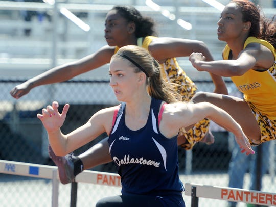 Dallastown's Taylor Forrester already has her sights