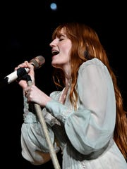 Tickets for Florence and the Machine go on sale Friday.