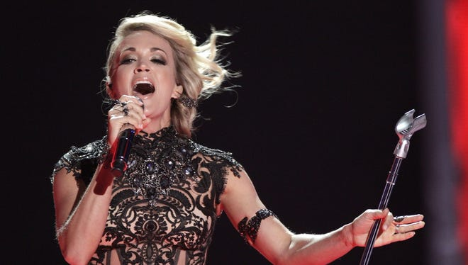 Carrie Underwood will perform Oct. 4 at Bankers Life Fieldhouse.