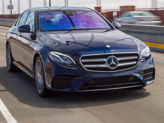 Review mercedes benz e class is a tech wonder for Mercedes benz a class usa