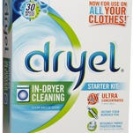 Dryel in-dryer cleaning system.