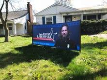 Bangert: 'Lebowski' for sheriff? A sign abides on 18th St.