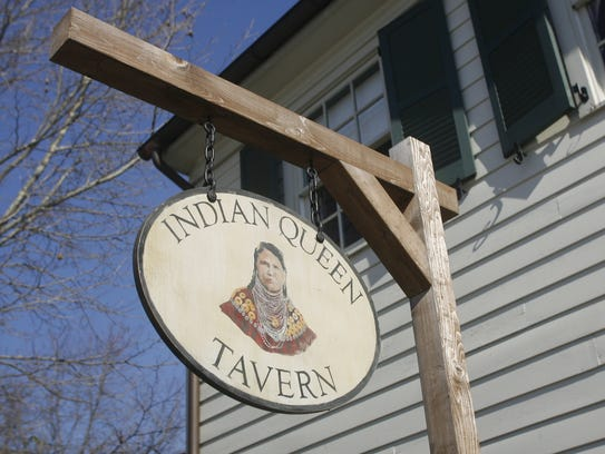 The Indian Queen Tavern at the East Jersey Old Towne