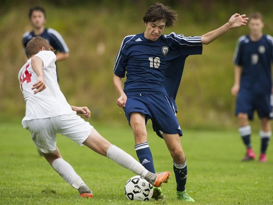 Essex vs. CVU Boys Soccer 09/09/15
