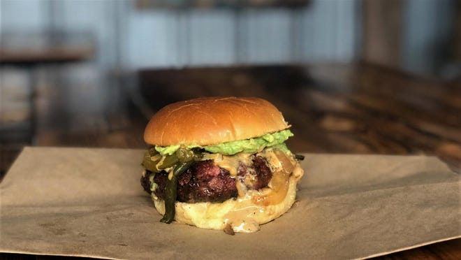 You can get the burger at Valentina's Tex-Mex only on Thursdays.
