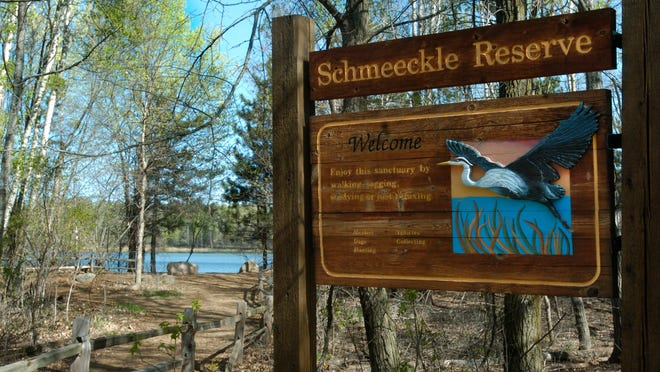 Schmeeckle Reserve on the University of Wisconsin-Stevens Point campus.