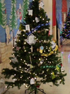Pate Elementary gave away 18 Christmas trees on Dec. 8.