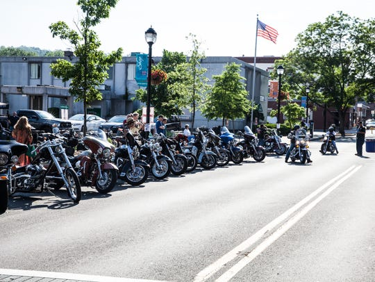 Motorcycles of all makes and models will line downtown