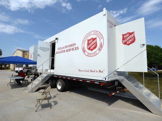 The Salvation Army is providing a mobile laundry truck for flood victims at the First Baptist Church in Gulf Breeze at 555 Fairpoint Drive. The truck is free and will be open for use from 9a.m.-6p.m. through Wednesday.