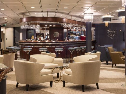Luxury ship Crystal Symphony emerges from makeover