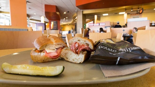 Fast-food restaurants such as this Panera in Oak Creek are increasingly popular with diners.