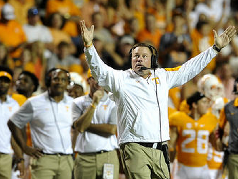 """Tennessee coach Butch Jones said he and his team """"must own"""" the loss to Florida."""